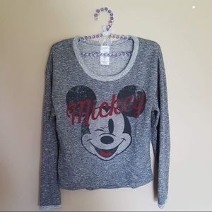 Disney Mickey grey sweatshirt size medium (7/9)